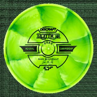 Tour Swirl ESP Rattler Green Back